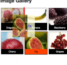 The image reorderer component